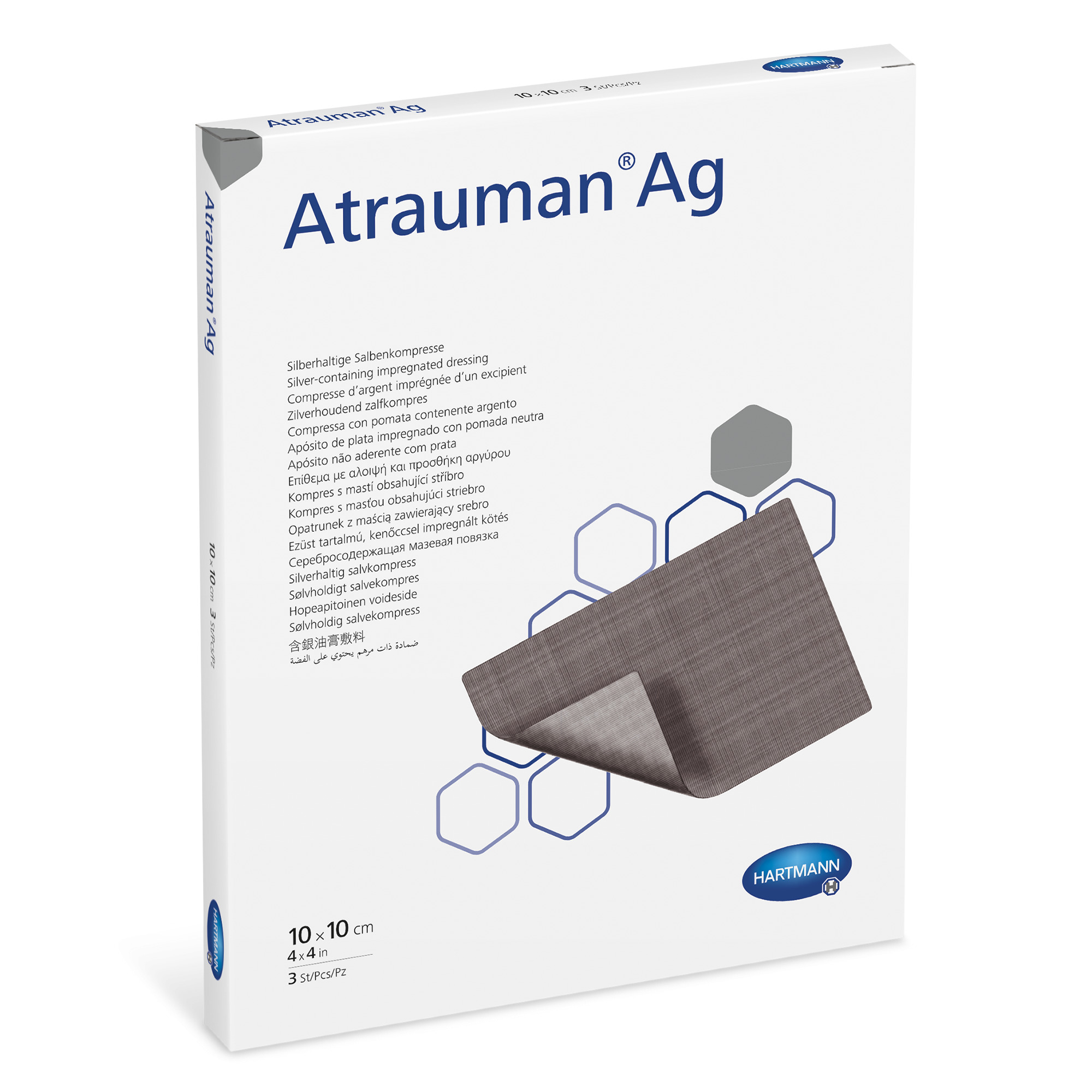 Atrauman Ag product box