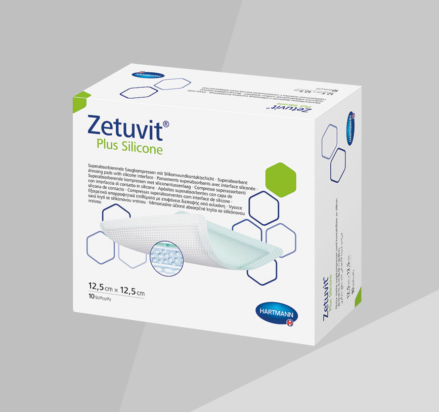 Zetuvit Plus Silicone product box